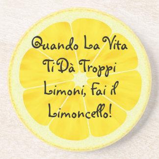 A porta copos de Rafaela (escrita no italiano)