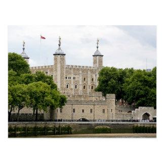A porta dos traidores, a torre de Londres Cartão Postal