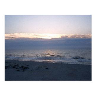 a praia cartão postal