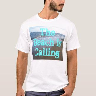 A praia está chamando a camisa CricketDiane do