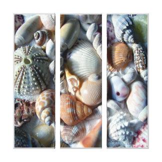 A praia tropical descasca canvas da fotografia impressão em tela