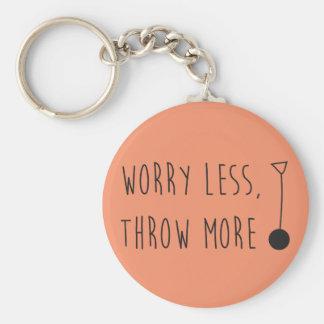 A preocupação menos, joga mais chaveiro do martelo