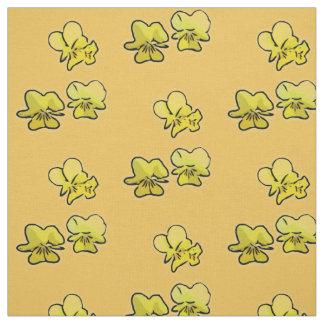 A prímula floresce tecido (amarelo)