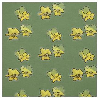 A prímula floresce tecido (verde)