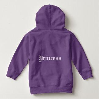 """A """"princesa"""" caçoa a camisola encapuçado camisetas"""