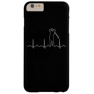 A pulsação do coração do jogador de golfe capas iPhone 6 plus barely there