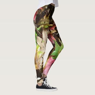 A queda das caneleiras deixa calças da ioga de leggings