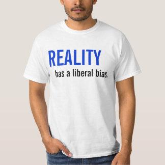 A realidade tem uma polarização liberal tshirts
