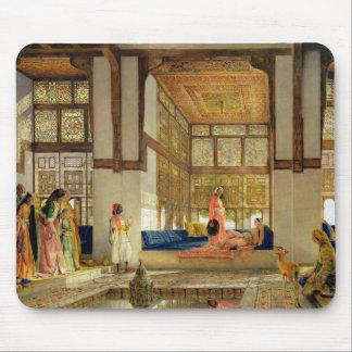 A recepção, 1873 (óleo no painel) mouse pad