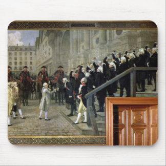 A recepção de Louis XVI no hotel de Ville b Mousepads