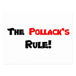 A regra da pescada polaca do Th! Cartão Postal
