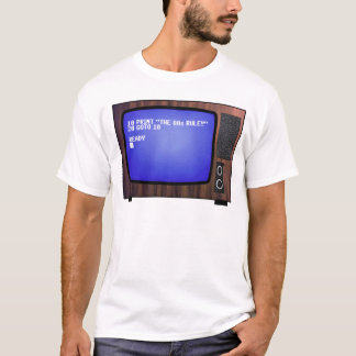 A regra do anos 80! camiseta