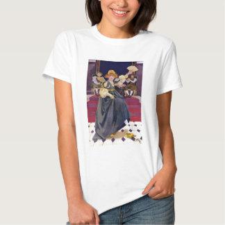 A rima de berçário de Ela Calçar da princesa Perda T-shirt