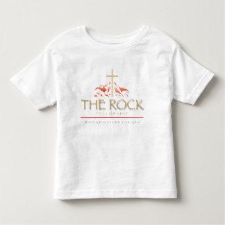 A ROCHA no branco - tshirt da criança