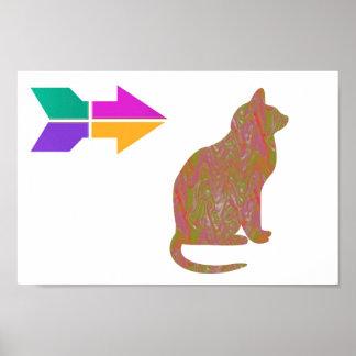 A SABEDORIA do animal de animal de estimação do CA Posters