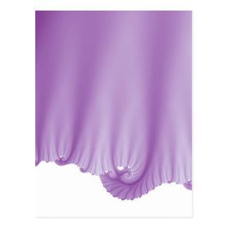 A seda do Lilac drapeja Cartão Postal