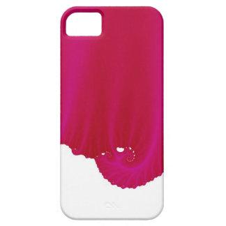 A seda magenta drapeja capa para iPhone 5