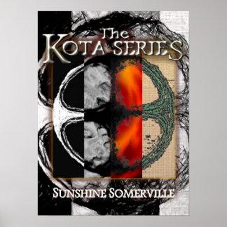 A série de Kota: Poster ajustado da caixa