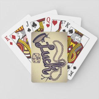 A sorte seja cartões da senhora um jogo jogo de carta