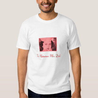 A Sra. notória Pau Camisetas