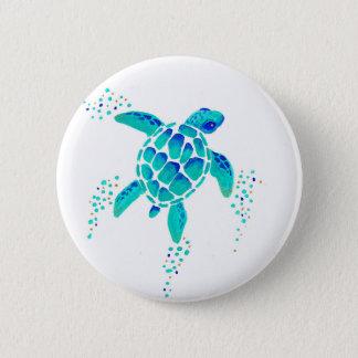 A tartaruga de Netuno Bóton Redondo 5.08cm