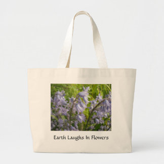 A terra ri nas flores - saco bolsa para compras