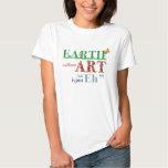 A terra sem arte é Eh camisetas engraçadas