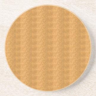 A textura de cristal do ouro do modelo de DIY adic Porta Copo Para Bebidas
