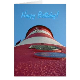 A torre de Smeaton, cartão de aniversário do Hoe