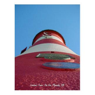 A torre de Smeaton, cartão do Hoe de Plymouth Cartões Postais