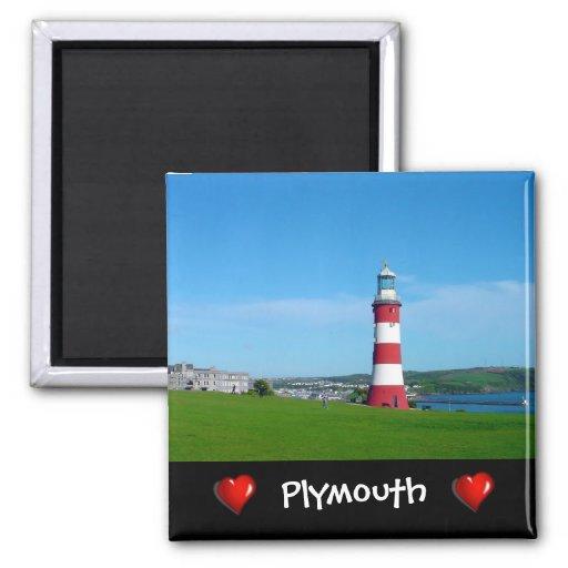 A torre de Smeaton, Hoe de Plymouth Imã De Refrigerador