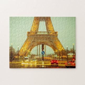 A torre Eiffel Quebra-cabeça