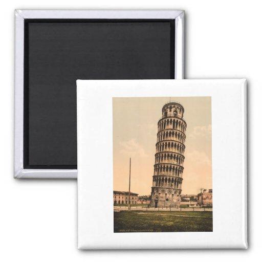 A torre inclinada de Pisa, Toscânia, Italia Ima