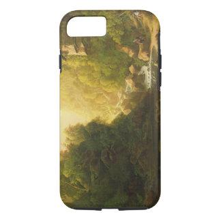 A torrente da montanha, c.1820-30 (óleo em canvas) capa iPhone 7