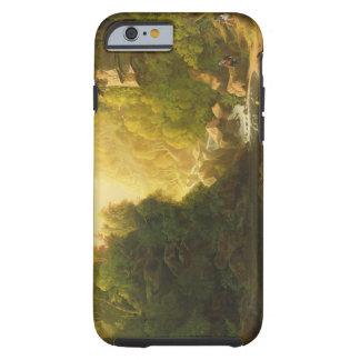 A torrente da montanha, c.1820-30 (óleo em canvas) capa tough para iPhone 6