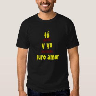 A Turquia y Yo Puro Amor Camiseta