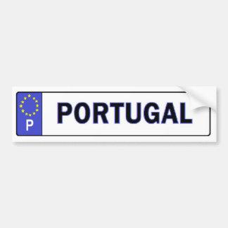 A UE de Portugal licencia a etiqueta Adesivo