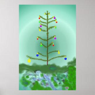 A última árvore decorada pôster