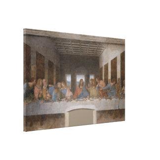 A última ceia/Última Cena por Leonardo da Vinci Impressão Em Tela