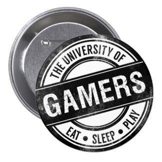 A universidade do botão engraçado dos Gamers Bóton Redondo 7.62cm