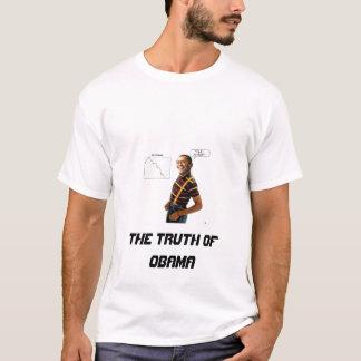 A verdade de obama camiseta