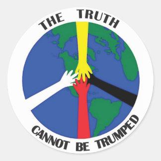 A verdade não pode Trumped - etiqueta