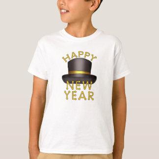 A véspera de Ano Novo caçoa o t-shirt do feriado