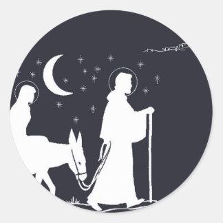 A viagem a Bethlehem Adesivo