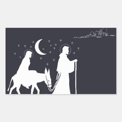 A viagem a Bethlehem Adesivos