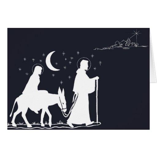 A viagem a Bethlehem Cartoes