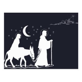 A viagem a Bethlehem Cartao Postal