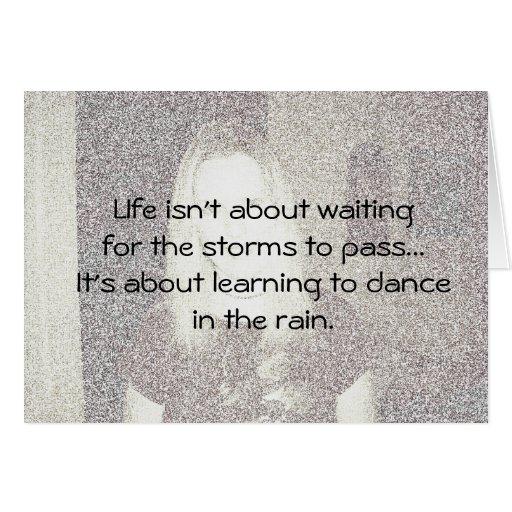 A vida não está sobre… cartao