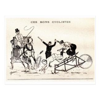 ~ A Vida para rir - 16 de junho de 1900 (p.10) ~ Cartão Postal