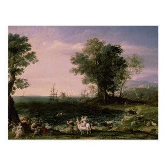 A violação do Europa, 1655 Cartão Postal